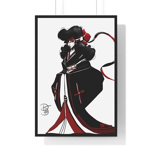 My Geisha Premium Framed Vertical Poster