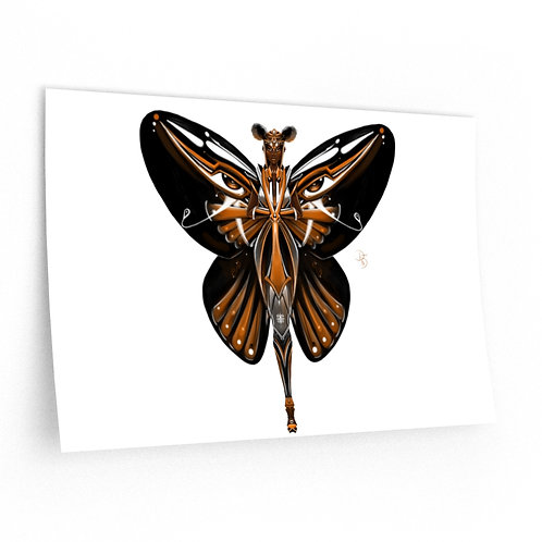 Oh My Monarch Butterfly Wall Decals