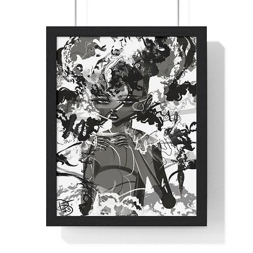 A Little Cloudy Premium Framed Vertical Poster