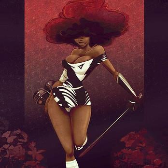 Afro Red..... .thatsstankyproduction.jpg