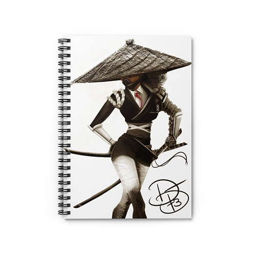 Samurai Business Penny -Spiral Notebook - Ruled Line
