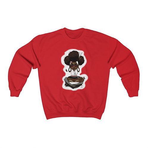 Natively Red Unisex Heavy Blend™ Crewneck Sweatshirt