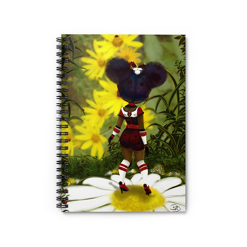 Good Morning LadyBug -Spiral Notebook - Ruled Line