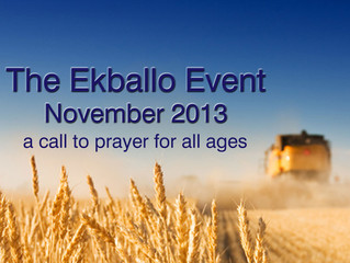 The Ekballo Event: November 2013