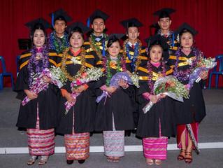 Graduates in Myanmar