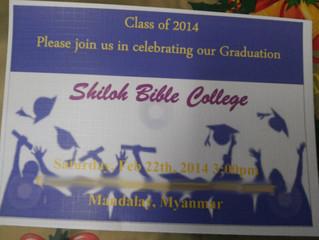 Shiloh Bible College Graduation