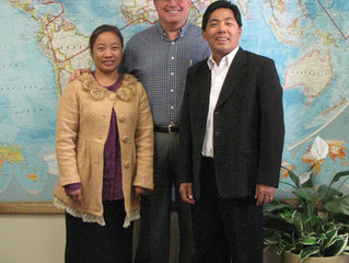 Visitors from Myanmar