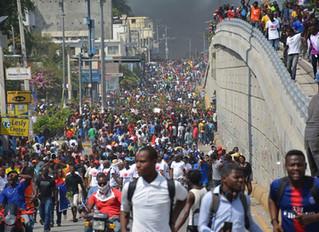 Haiti Work Progresses in Spite of Unrest