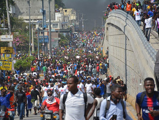 Haiti Work Progresses in Spite of Unrest