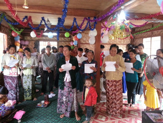 Christmas Outreach in Myanmar