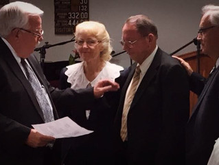 Celebrating New Pastors