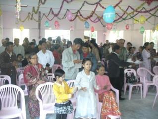 Christmas Ministry in Myanmar