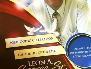 Remembering Pastor Leon George