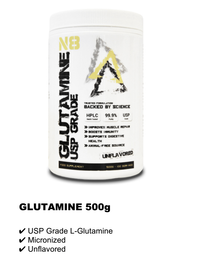 GLUTAMINE 500g RM110
