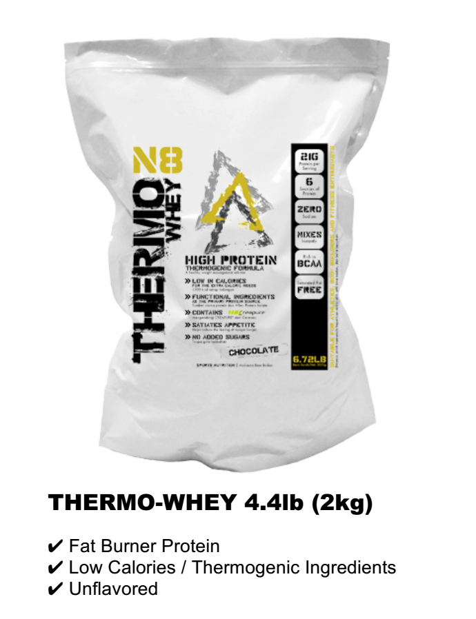 THERMO-WHEY 4.4lb (2kg) RM220