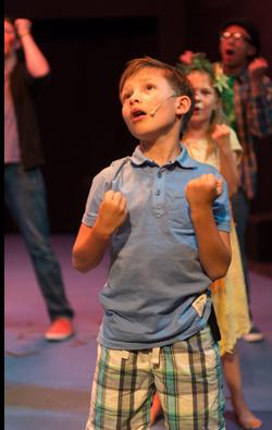 Little boy dance