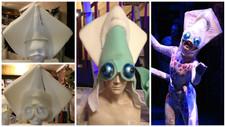 """Squid Headdress, """"Billy Witch"""""""