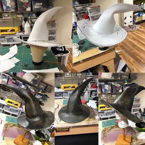 Odin's hat, EVA foam