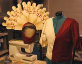 'Pin Girl' headdress and top, Big Lebowski