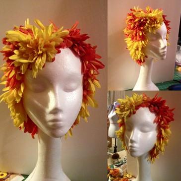Flower Petal wig
