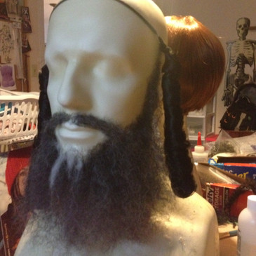 Shylock beard and Payis