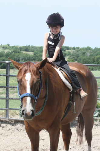 Spring Riding Lessons are in Full Swing at Benbrook Stables
