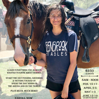 Riding Academy This Weekend at Benbrook Stables!