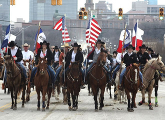 Ride with us in the 2019 Fort Worth Stock Show Parade and Rodeo Grand Entry