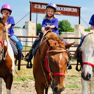 Summer Horse Camp at Benbrook Stables