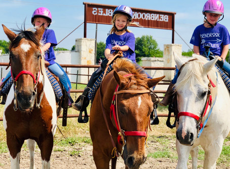 Summer Horse Camp at Benbrook Stables