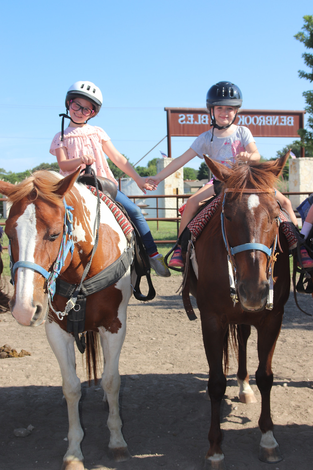 Benbrook Stables Riding Academy Riding School Horse Camp Summer Camp Spring Break Camp