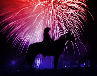 4th of July Weekend at Benbrook Stables