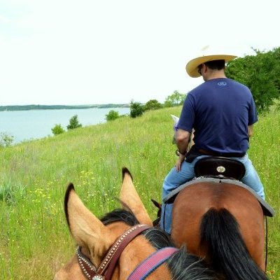 Trail Riding at Benbrook Stables - Ft. Worth, Tx.