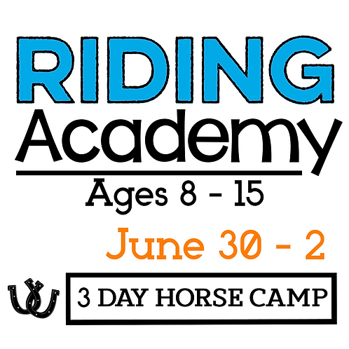 The Riding Academy June 30-2