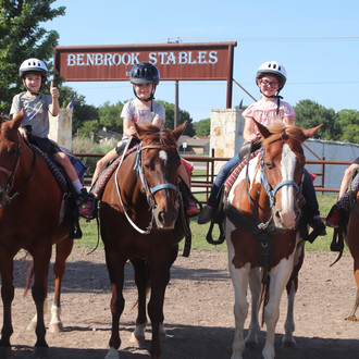 "Benbrook Stables, Introduces ""The Riding School"""