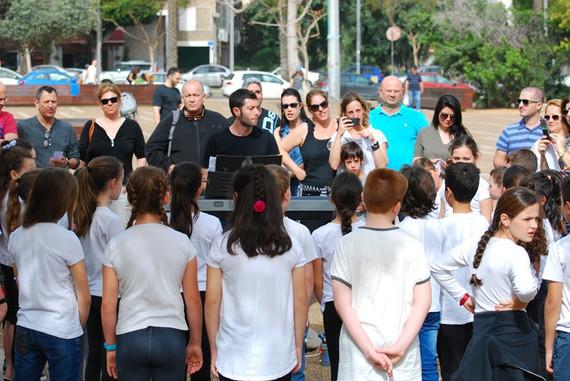 הופעת המקהלה שלי בכיכר רבין