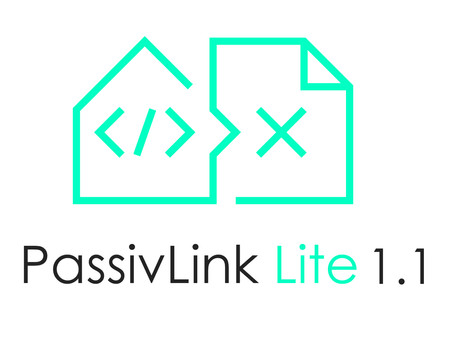 A new update is out:             PassivLink Lite 1.1!