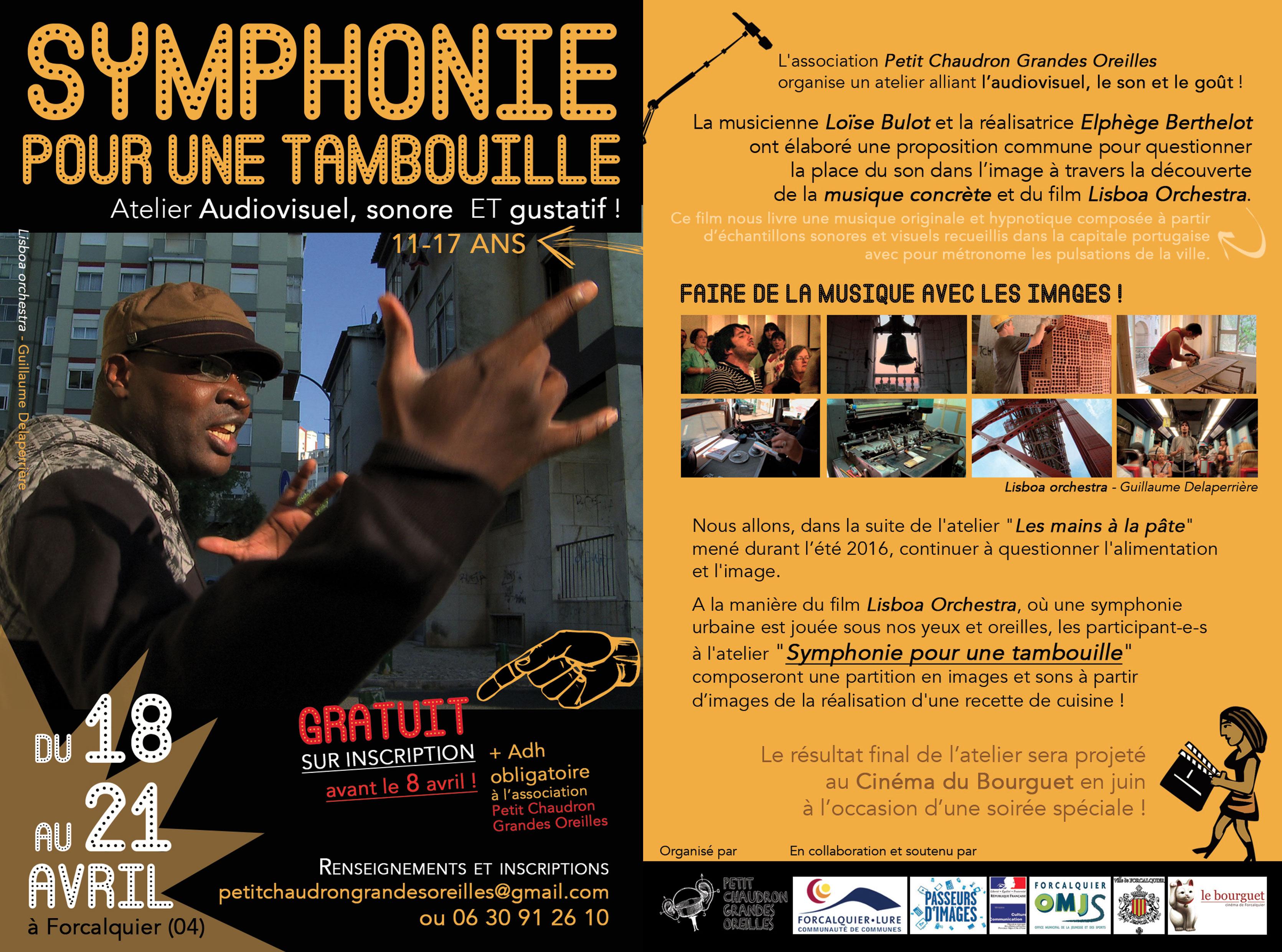 Symphonie Pour Une Tambouille Petitchaudron - Symphonie cuisine