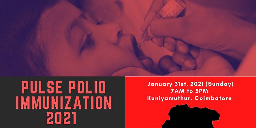 Pulse Polio Immunization 2021 (We Are Ready) - Coimbatore