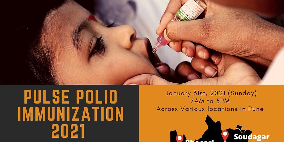Pulse Polio Immunization 2021 (We Are Ready) - Pune