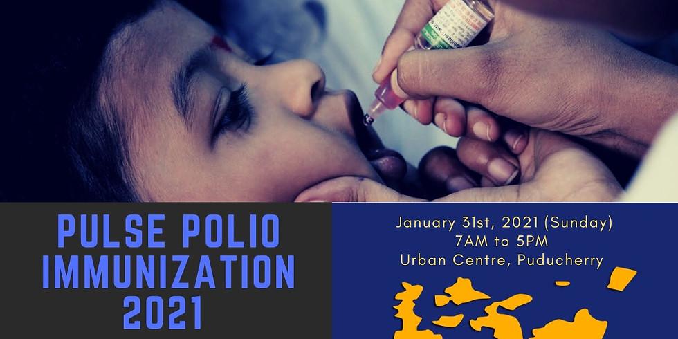 Pulse Polio Immunization 2021 (We Are Ready) - Puducherry