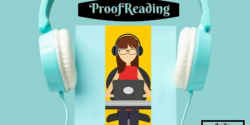Proof Reading - Volunteer to proofread audio books recorded for Visually Impaired Students
