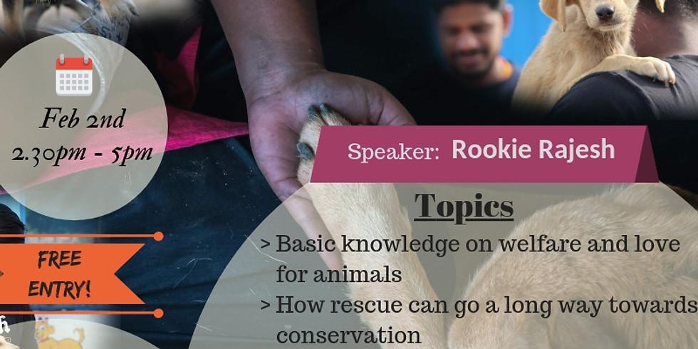 Animal Welfare Workshop | Meet The Paws