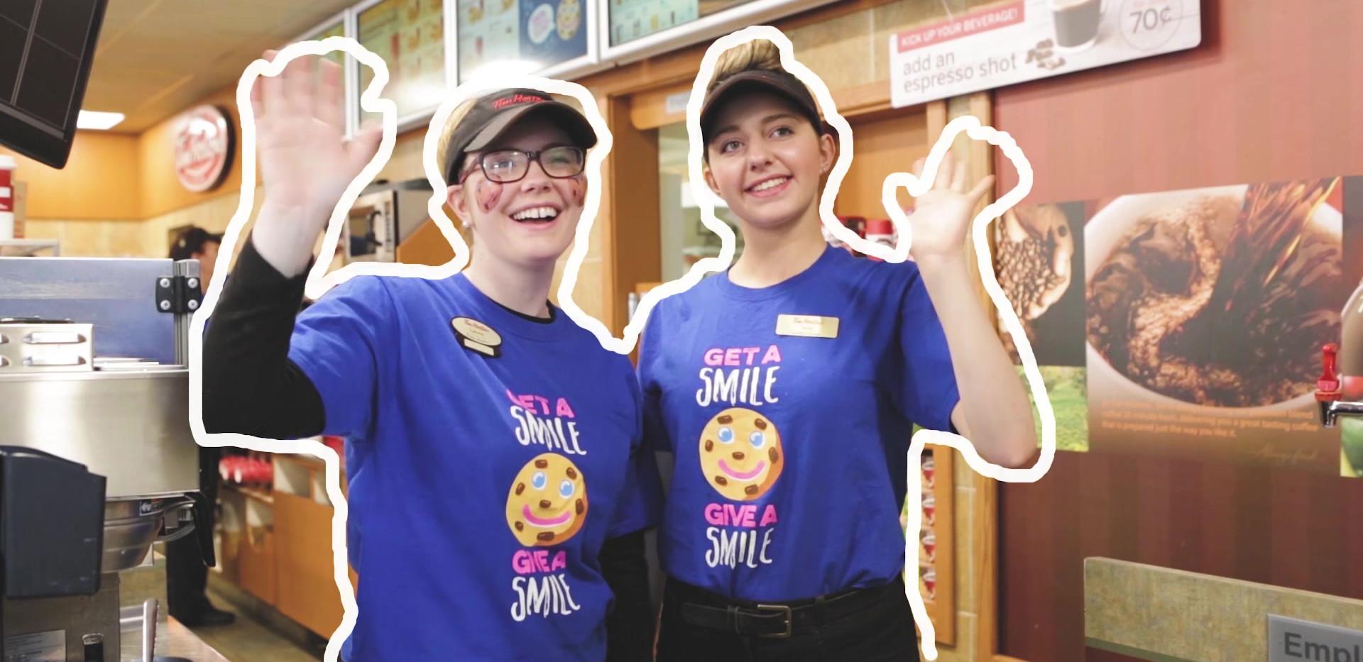 IWK Foundation - Tim Horton's Smile Cookie