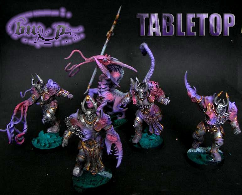 Blood Bowl slaanesh team