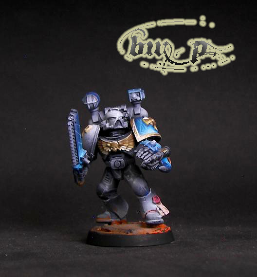 Space Marine apothecary