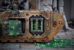 Landraider Side detail