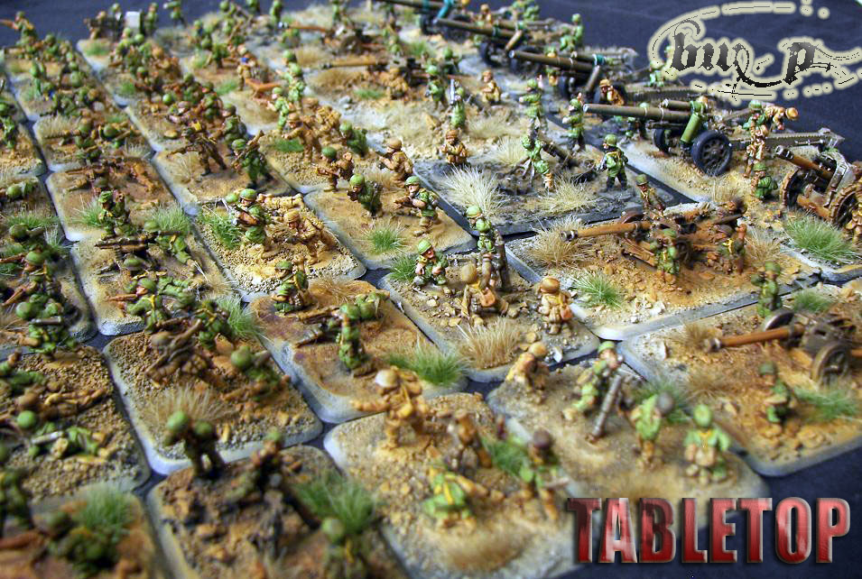 German FoW army