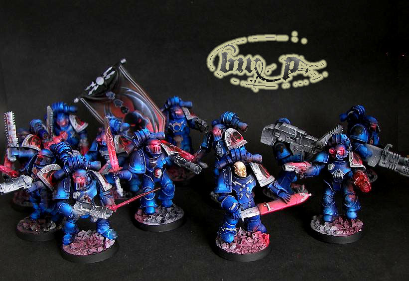 PRE heresy Nightlords squad