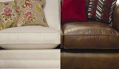 fabric and leather furniture cleaning
